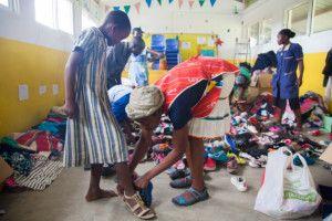 Donaciones de ropa a la Fundación Khanimambo
