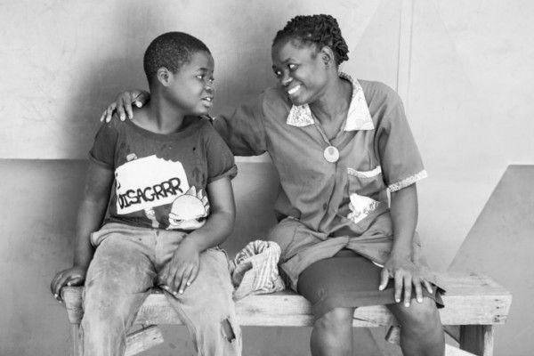 Alvina y Paula de la Fundación Khanimambo