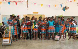 Gala de talentos 2016 de la Fundación Khanimambo en Xai-Xai