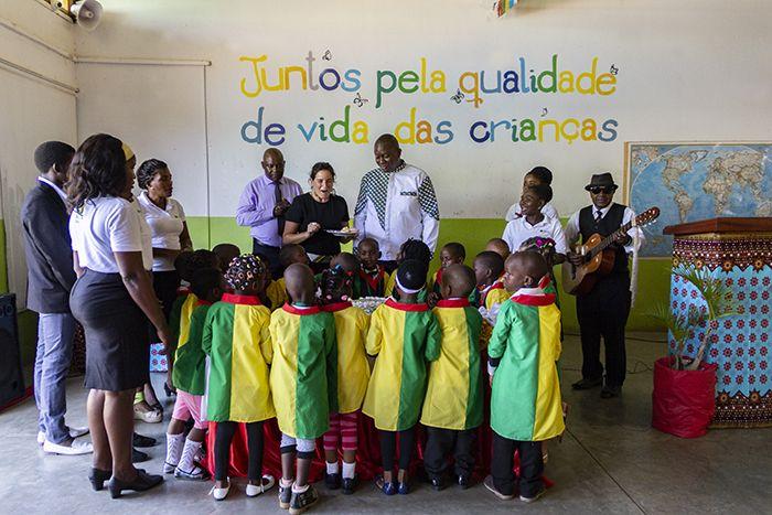 Graduación de Preescolar en Khanimambo