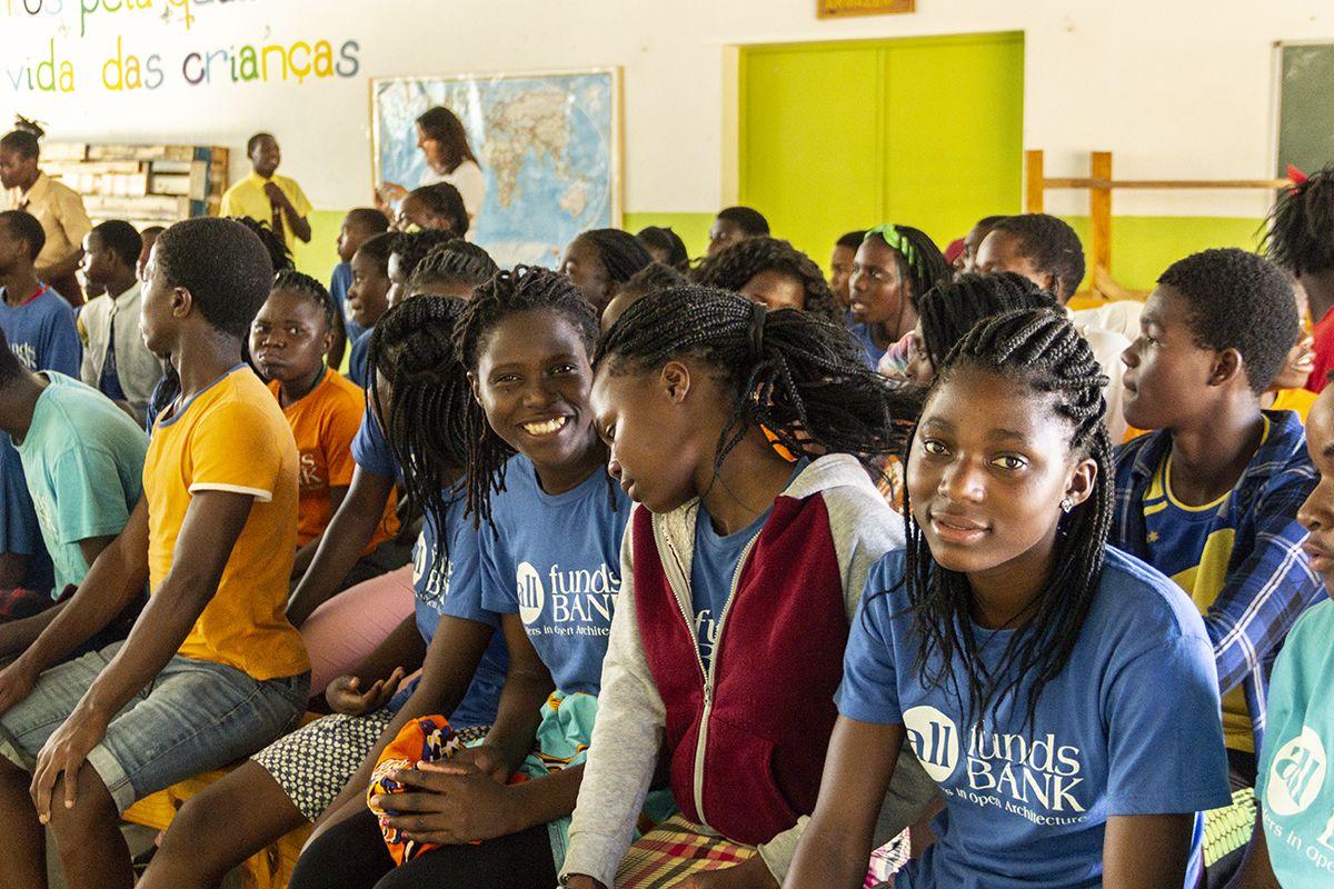 Asamblea de alumnos 2018 en la Fundación Khanimambo