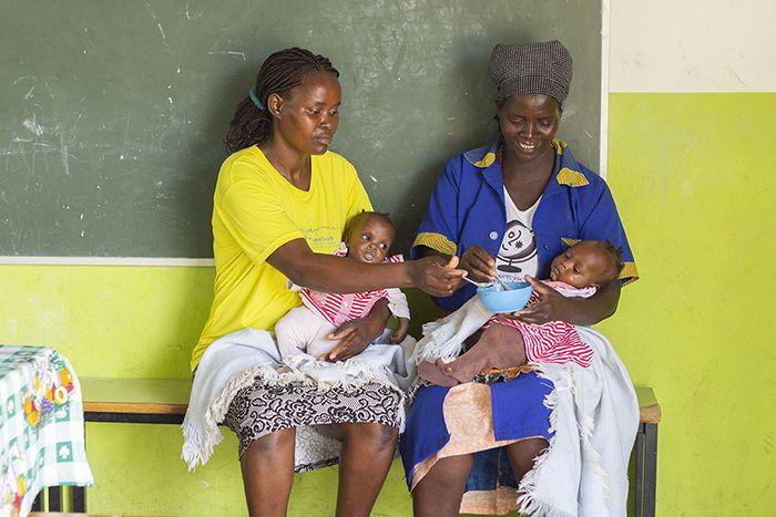 Programa de salud y nutrición de la Fundación Khanimambo