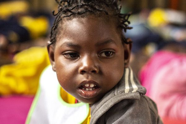Samira en la Fundación Khanimambo