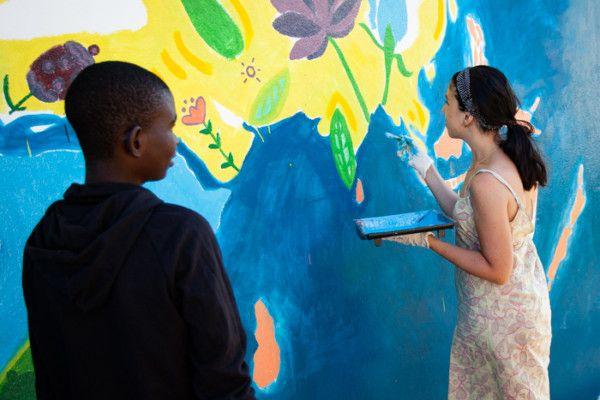Elia, pediatra y voluntaria en Khanimambo