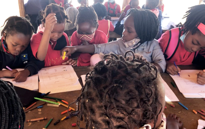 Aula infantil de la Fundación Khanimambo