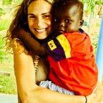 Marian, primera voluntaria de Khanimambo en 2008