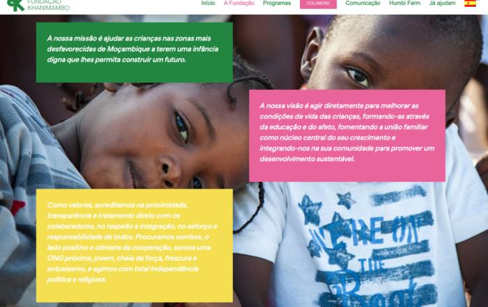 Por fin, ¡la web de Khanimambo en portugués!