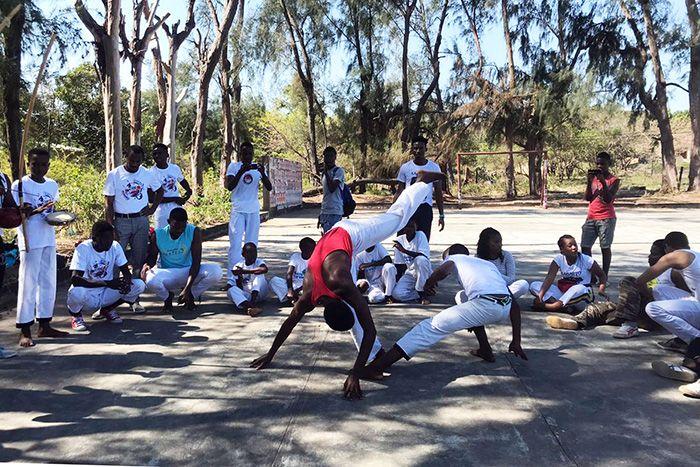 Caravana de Capoeira en Bilene