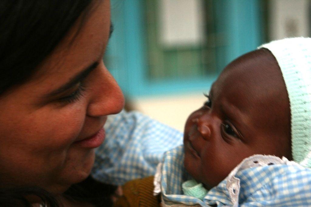 Con Rael, una de las primeras ahijadas y hoy mi hija adoptiva.