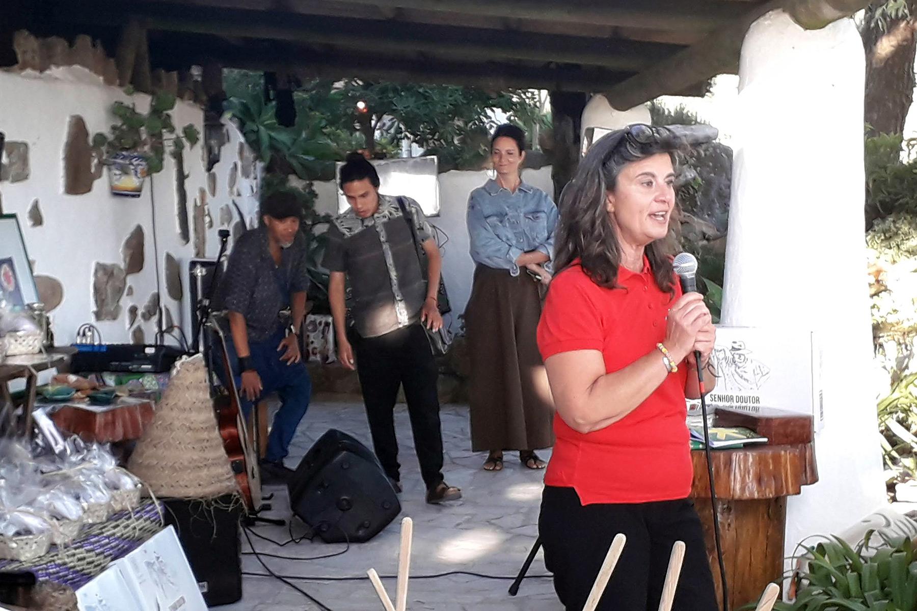 Ceremonia de apertura de Khanimambo en Portugal