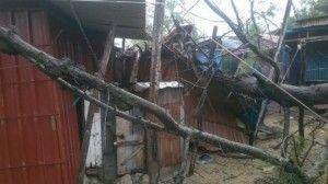 El ciclón Dineo a su paso por Inhambane