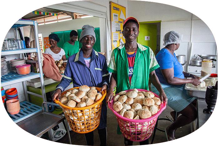 Programa de Nutrición de la Fundación Khanimambo