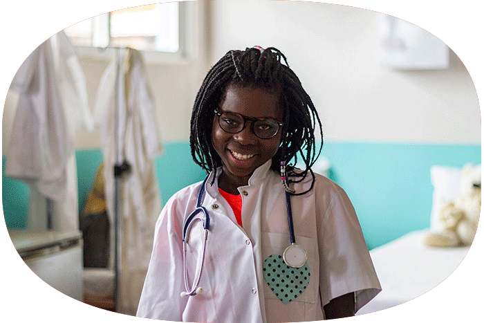 Enfermería del Centro Munti de la Fundación Khanimambo