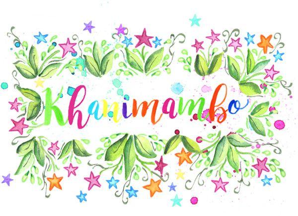 Tarjetón Khanimambo